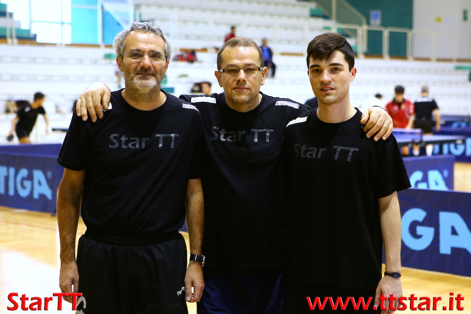 Michele Liberi, Roberto Salmistraro, Davide Magrin