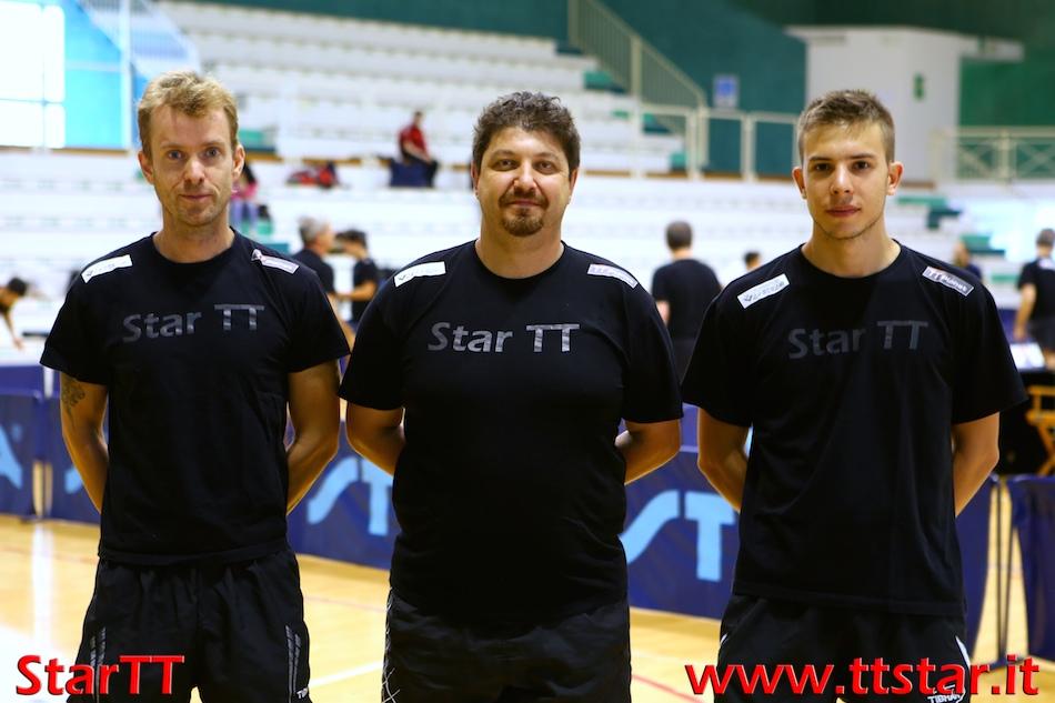 Marco Menandro, Luca Paccagnan, Roberto De Battisti