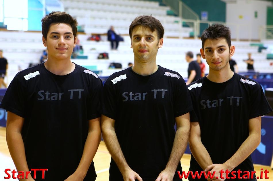 Simone Longato, Andrea Pavan, Dario Dimaggio