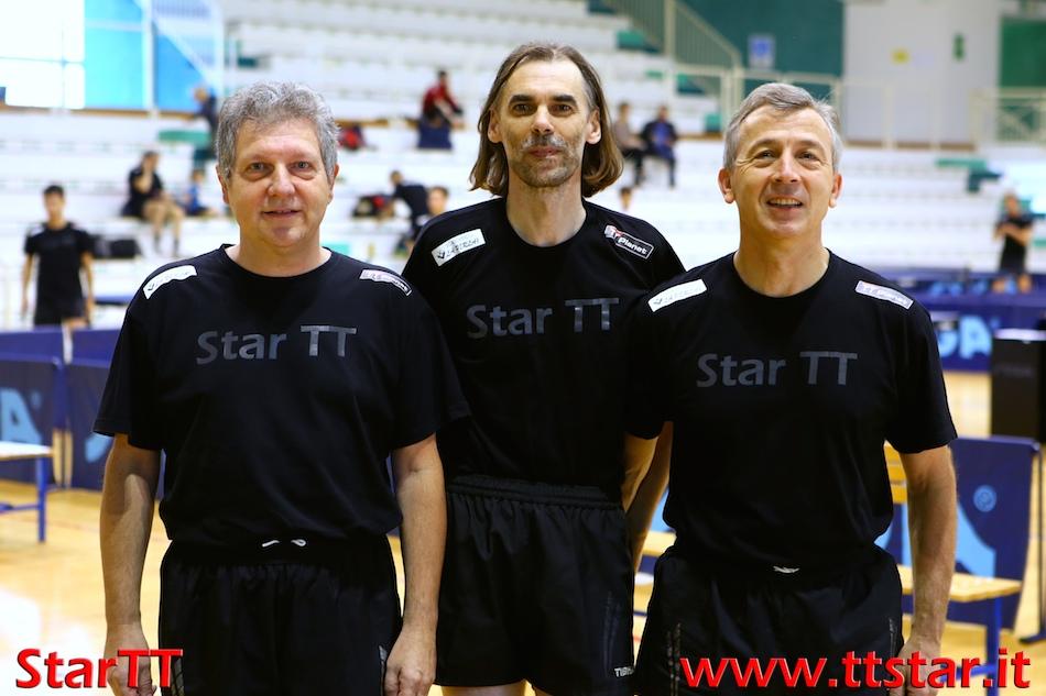 Mauro Santato, Alberto Negrello, Piersandro Peraro