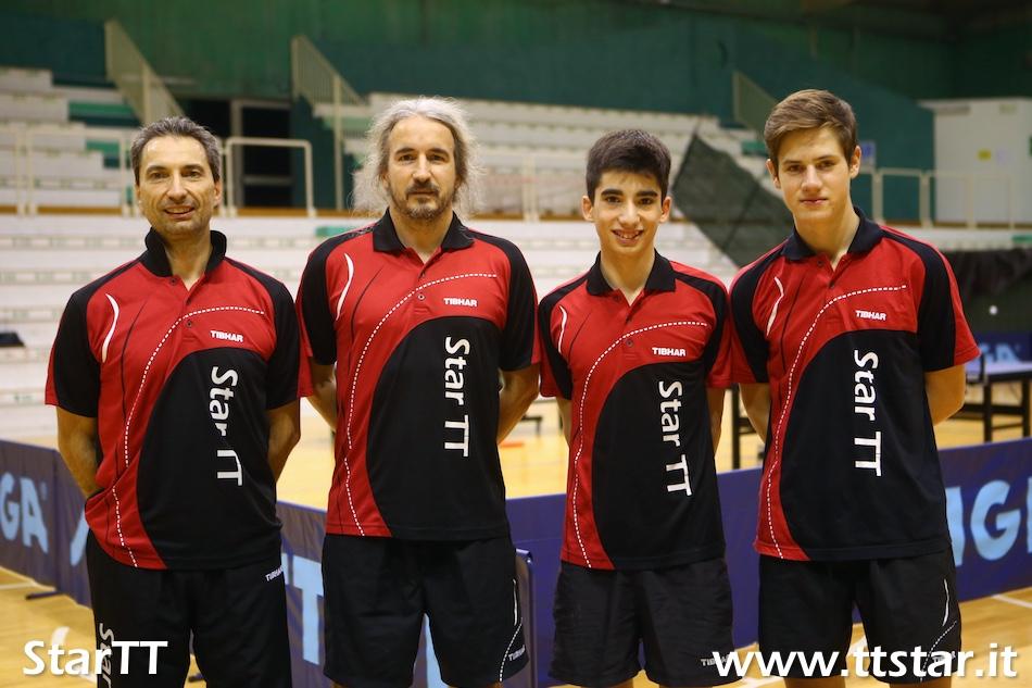Diego Capellua, Davide Bigliotto, Matteo Capellua, Alberto Campaci