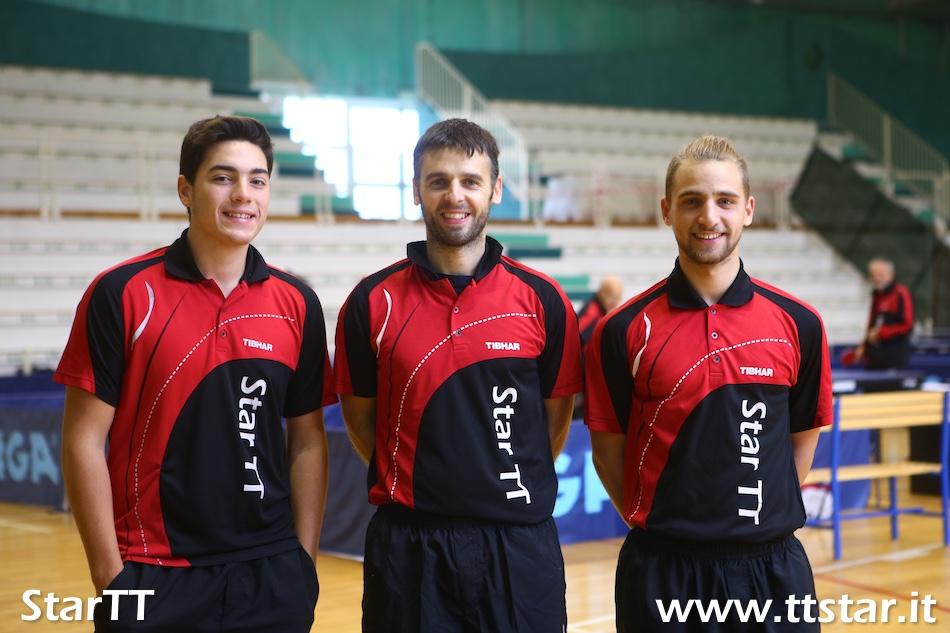 Simone Longato, Andrea Pavan, Cristian Capellua