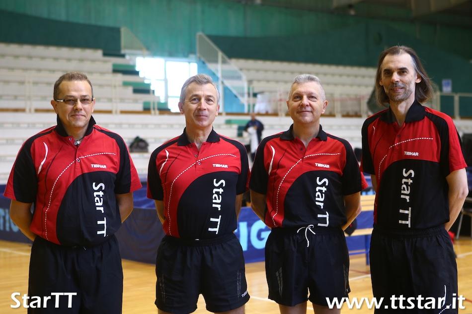 Roberto Salmistraro, Piersandro Peraro, Mauro Santato, Alberto Negrello