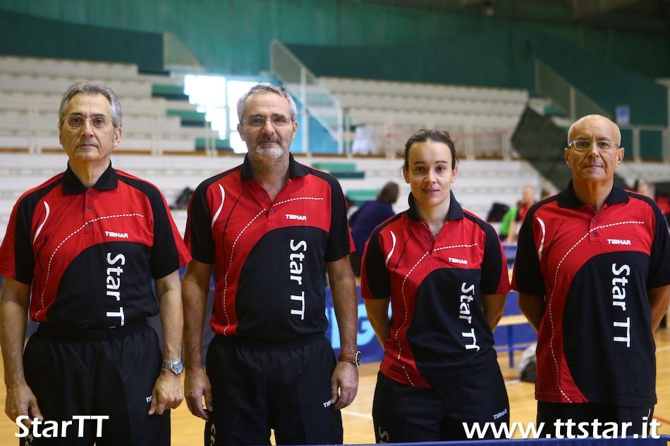 Franco Busacca, Michele Liberi, Arianna Spoladore, Tiziano Tasinato