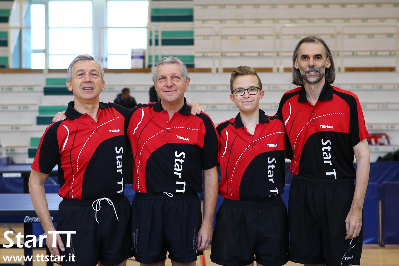 Piersandro Peraro, Mauro Santato, Giorgio Spina, Alberto Negrello